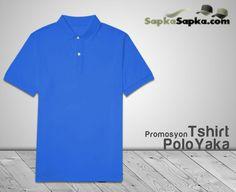 Promosyon Polo Yaka T-shirt Mavi