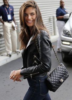 Fashion Inspiration | Leather Jackets : Spring Looks
