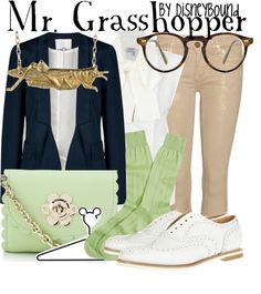 """Mr. Grasshopper"" by lalakay on Polyvore"