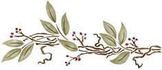 Check out the deal on Twigs & Leaves at American Home Stencils