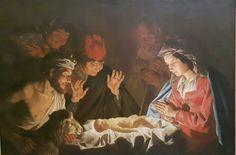 Adorazione dei pastori. 1640. Circa.  Capodimonte