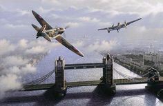 Battle of Britain by Stan Stokes.                                                                                                                                                                                 More