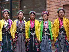 Tamang women - Nepal.