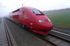 Trem-bala Bruxelas Amsterdã