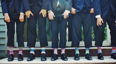The things you surround yourself with become an extension of yourself as a man. Here are 50 things every man should own. How many can you tick off? Crazy Socks, Cool Socks, Online Galerie, Talent Management, Striped Socks, Every Man, Men Style Tips, Men Tips, Happy Socks