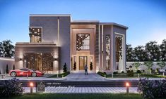Come And Design Your Villa Or Building Or Hotel Or Interior Decor With Us We Have Fantastic Architectural Designs And Plans Modern Mansion Interior, Modern Bungalow Exterior, Classic House Exterior, Modern House Facades, Classic House Design, Modern Exterior House Designs, Unique House Design, House Front Design, Dream House Exterior