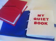 Quiet Book with patterns