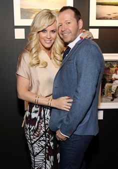 Pin for Later: All the Celebrities Who Came Down With Wedding Fever in 2014 Donnie Wahlberg and Jenny McCarthy