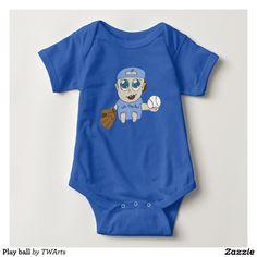 Play ball infant creeper