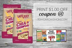 Sprouts Shoppers  This week You can score #latejulyorganic chips for only $0.99! Click the link in my bio @tomorrowsmom to print your coupon . Visit My Blog: TomorrowsMom.com |Organic & Natural Deals|Family Savings Deals| . TAG OR DM THIS DEAL 2 A FRIEND .  #frugal #savings #deals #cosmicmothers  #organic #fitmom #health101 #change #nongmo #organiclife #crunchymama #organicmom #gmofree #organiclifestyle #familysavings  #healthyhabits #lifechanging #fitpeople #couponcommunity #deals…