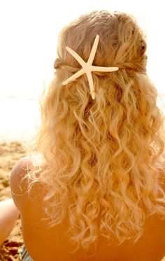 Starfish clip on etsy..I NEED this