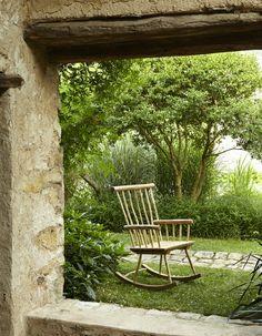 Fauteuil à Bascule, Achat/Vente Mobilier de Jardin en Bois - Botanique Editions
