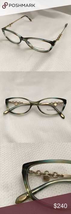 2239234e2c5 Tiffany   Co Ocean Turquoise Eye Glasses Frame Tiffany   Co. TF 2063 8124  Ocean