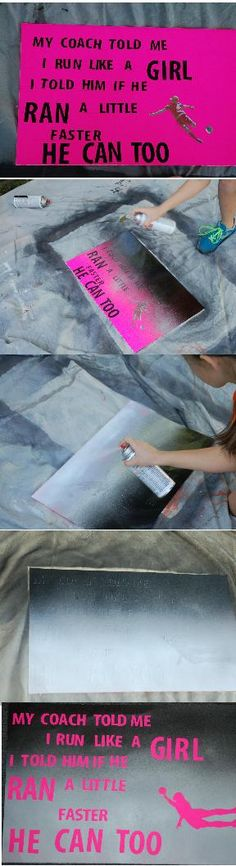 Easy spray paint art for kids