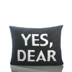 Let the pillow speak for you! @ bbinteriordesigns.com Geneva, IL 630-262-9400