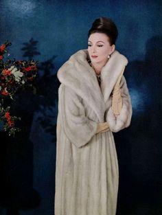 Without apology, I like fur.  Circa 1960