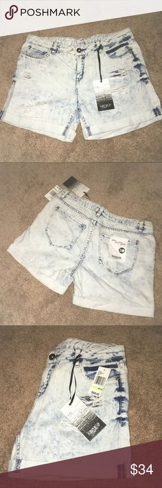 Kensie Jean Shorts 🐳☀️ Brand new with tags. Distressed stretch jean shorts. Size 30. Offers welcome!! Bundle & Save. Happy Poshing!✌🏻 Kensie Shorts Jean Shorts