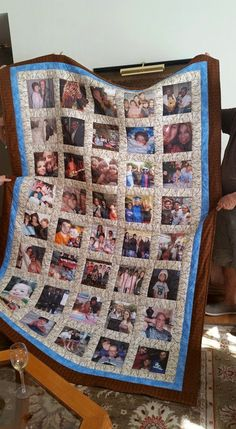 Custom Made Precious Memories Photo Quilt by MessageQuiltsbyTaffy