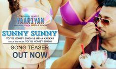 Sunny Sunny Lyrics - #YoYoHoneySingh