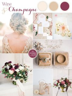 Wine and Champagne Pairing for a Chic Wedding Palette