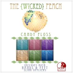 Wicked Peach Advert Candy Floss | Flickr - Photo Sharing!