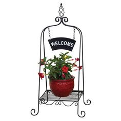 Welcome Plant Stand