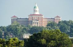 Insane Asylum on Arsenal - St Louis, MO Taken from my window. Neuroplastically Challenged : Take Your Pay Where You Can