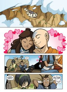 "<b>When all hope of Katara/Zuko being canon was extinguished.</b> Dark Horse Comics gave us a look at the first six pages of the <a href=""https://www.amazon.com/dp/1595828753?tag=buzz0f-20"