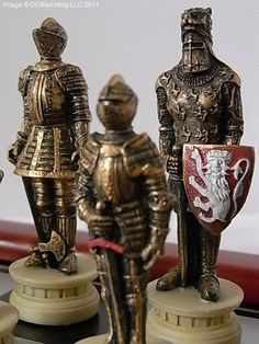Middle Ages chess set