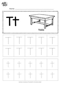 Handwriting Worksheets For Kids, Letter Worksheets For Preschool, Alphabet Tracing Worksheets, Alphabet Writing, Preschool Letters, Kids Worksheets, English Alphabet, Tracing Letters, Preschool Printables