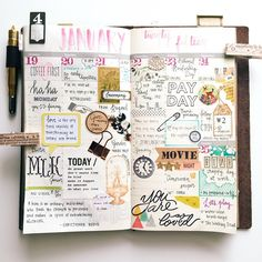 | wk of Jan. 19 - 25. 2015 | Planning is more fun with stamps.