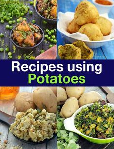 147 आलू रेसिपी, potatoes recipes in Hindi Potato Recipes In Hindi, Aloo Recipes, Recipies, Tastey Recipe, Starter Dishes, French Potatoes, Healthy Snacks, Healthy Eating, American Dishes