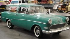 1960 Opel Rekord P1 Olympia