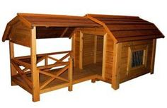 The Barn Dog House   PupLife Dog Supplies ~ This is a really cool dog house