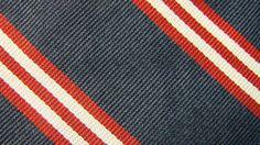 BROOKS BROTHERS DARK BLUE RED STRIPE SILK NECKTIE TIE MMY2716D #A25