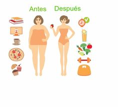 Cambia tu menú por platos de comida más saludables.