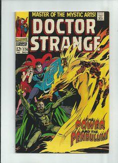 DR STRANGE #174 Silver Age find featuring 1st Supreme Satannish! GRADE 8.5 http://r.ebay.com/6uVtA2