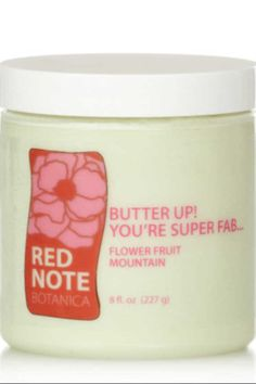 """Sweet pears, crisp green apples, melon, misted with gorgeous honeysuckle.  The ultimate spring fragrance loved all year long with its """"get happy"""" feeling.  One of my all time favorites for its distinctively beautiful floral fruity charm. http://rednotebotanica.com/shop/butter-up-youre-super-fab-flower-fruit-mountain/"""