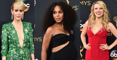 The 13 best dressed celebrities at the Emmys.