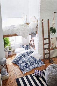 Loft living & 21 Cool And Calm Teen Room Design Ideas | Pinterest | Teen room ...