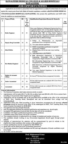 Best Career Opportunities In Contract Basis Th May   Jobs
