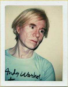 """Andy Warhol - Self-Portrait, 1977. Polaroid™ Polacolor ER. 10,8 x 8,6cm (4.3"""" x 3.8"""") — The Andy Warhol MuseumFor more Fine Arts followgalerie mARTin."""