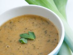 Recipes - Soups - Watercress and Baby Leek Soup