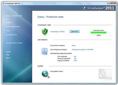 VirusKeeper 2011 is an extension of the Multi Virus Cleaner program but, with real time protection. The software boasts an impressive virus database and antispyware scanning capabilities, in addition to regular virus detection.