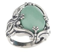 Carolyn Pollack Utah Sterling Variscite Ring