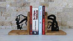 Kitap Tutucu Ahsap Ahşap Wood Book Desing