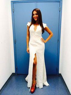 Catarina Furtado White Dress, Portugal, Dresses, Women, Fashion, Red Shoes, Celebrity Women, Vestidos, Moda