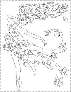 Nicole's Free Coloring Pages: Autumn