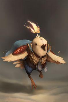 Concept Adventure Characters by Guille García, via Behance
