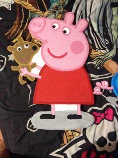 Peppa pig en foam